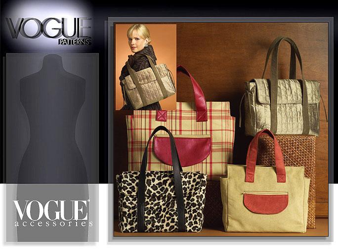 Vogue Patterns SATCHEL BAGS 8439
