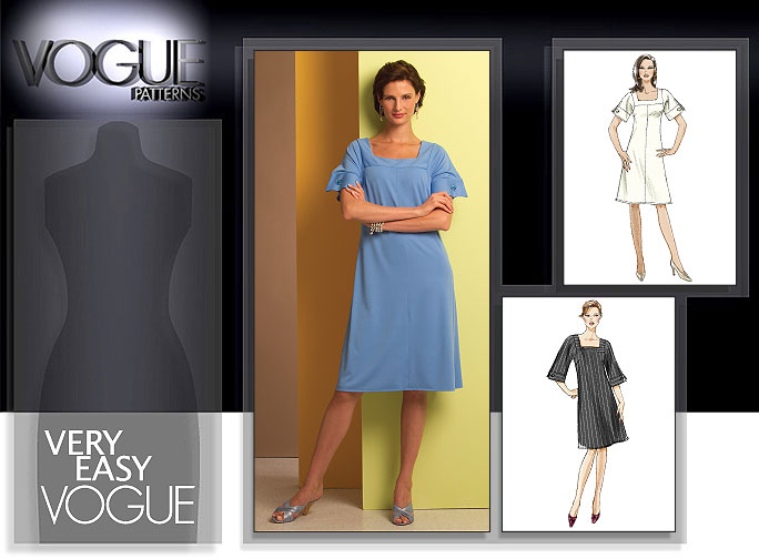 Vogue Patterns MISSES'/MISSES' PETITE DRESS 8442