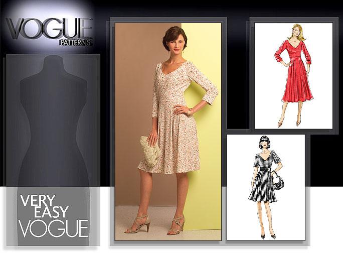Vogue Patterns MISSES' DRESS 8443