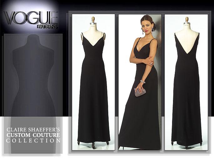 Vogue Patterns MISSES' DRESS 8449