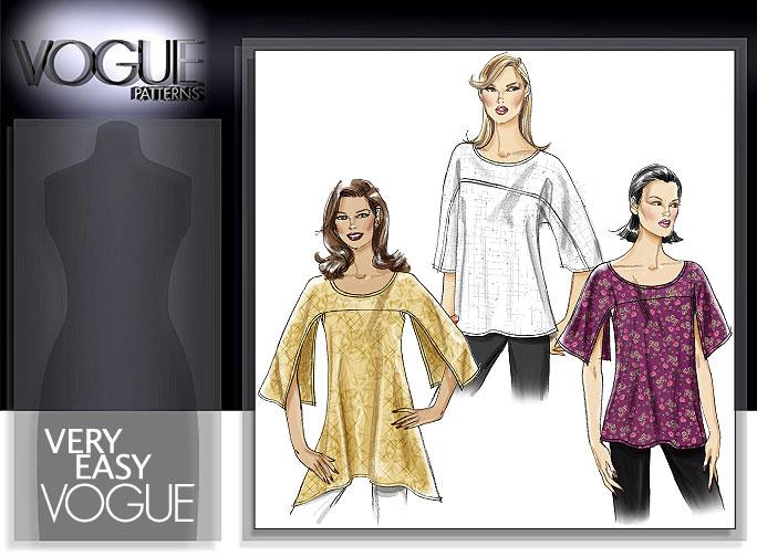 Vogue Patterns MISSES' TUNIC 8452