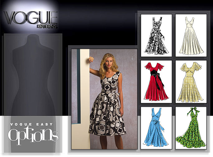 Vogue Patterns MISSES' DRESS 8470
