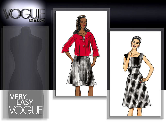 Vogue Patterns MISSES' JACKET AND DRESS 8472