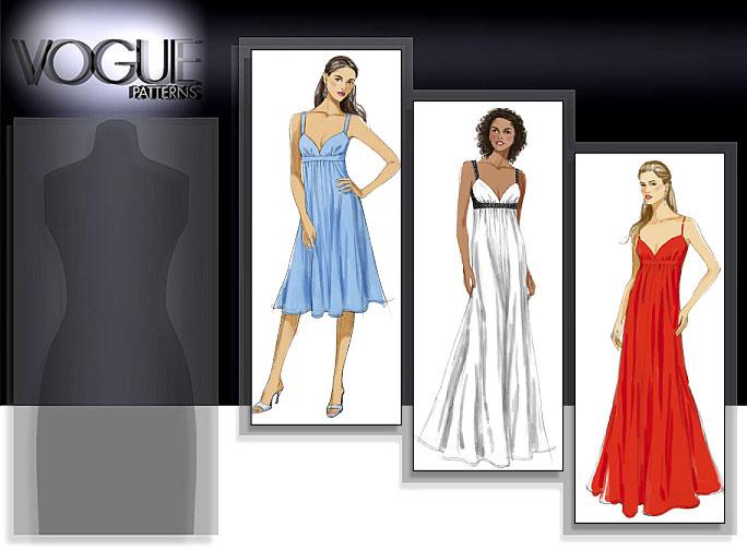 Vogue Patterns MISSES' DRESS 8475