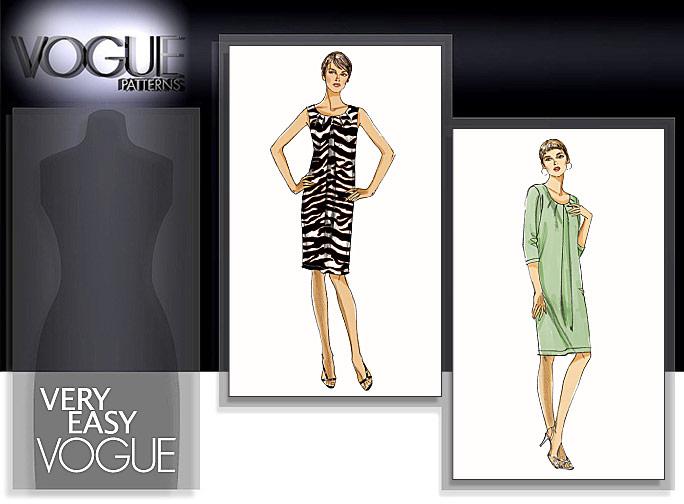 Vogue Patterns MISSES' DRESS 8486