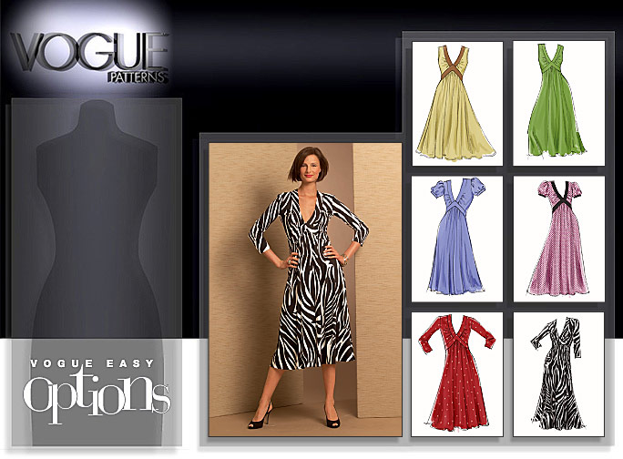 Vogue Patterns MISSES' DRESS 8489