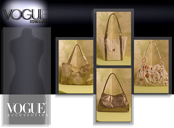 Vogue Patterns BAGS 8506