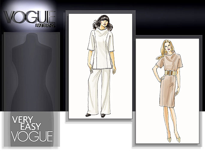 Vogue Patterns MISSES' TUNIC, DRESS AND PANTS 8512