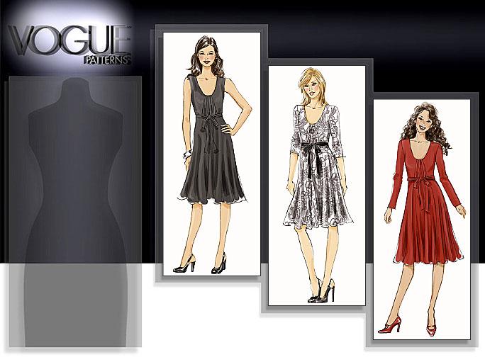 Vogue Patterns MISSES' DRESS 8513