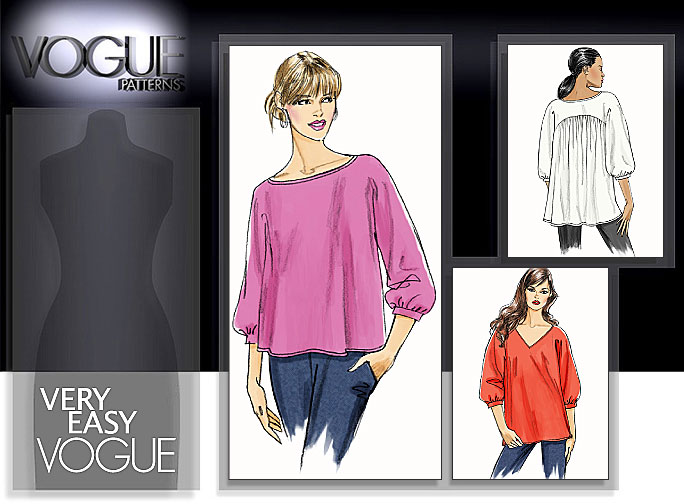 Vogue Patterns MISSES' TOP 8514