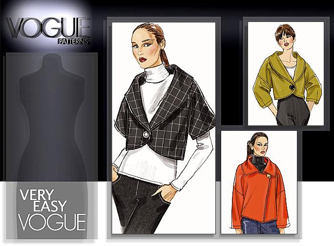 Vogue Patterns MISSES' JACKET 8522