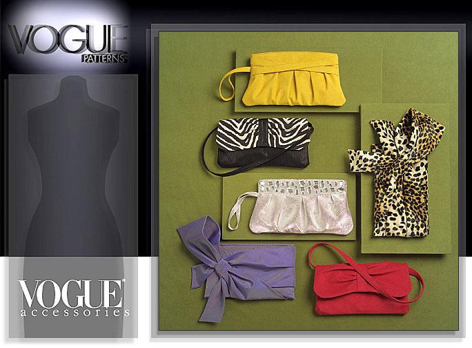Vogue Patterns CLUTCH BAGS 8527
