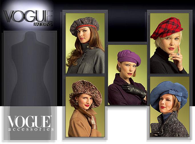 Vogue Patterns HATS 8528