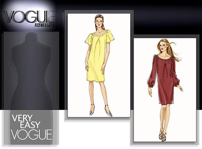 Vogue Patterns MISSES' DRESS 8530