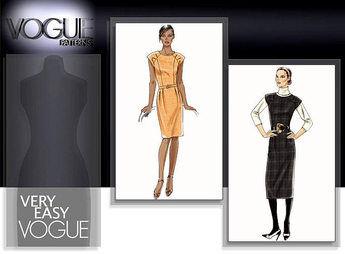 Vogue Patterns MISSES'/MISSES' PETITE DRESS 8531