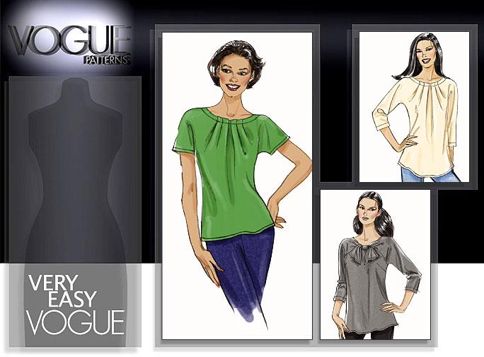 Vogue Patterns MISSES' TOP 8534