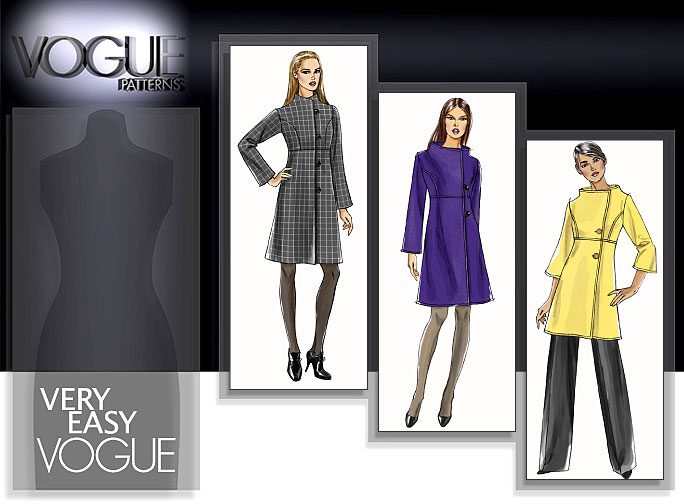 Vogue Patterns MISSES' COAT 8548