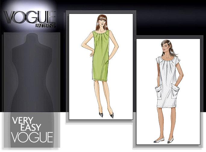 Vogue Patterns MISSES' DRESS 8552