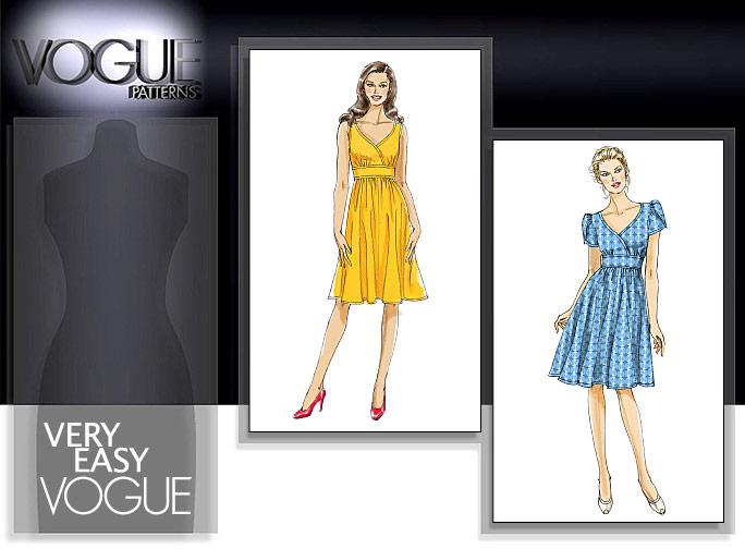 Vogue Patterns MISSES' DRESS 8554