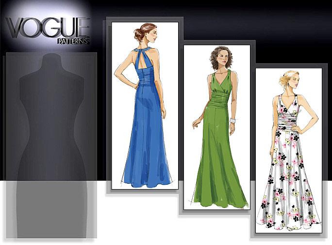 Vogue Patterns MISSES' DRESS 8556