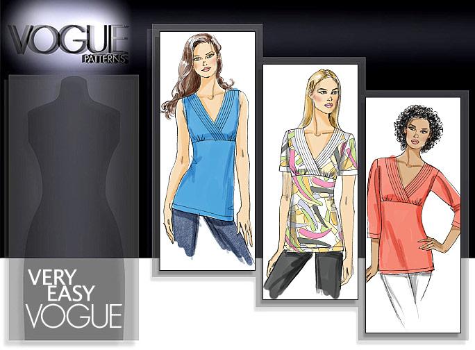Vogue Patterns MISSES' TOP 8558