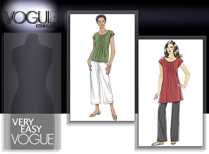 Vogue Patterns MISSES' TOP, TUNIC AND PANTS 8565