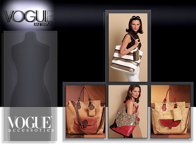 Vogue Patterns LARGE BAGS 8568