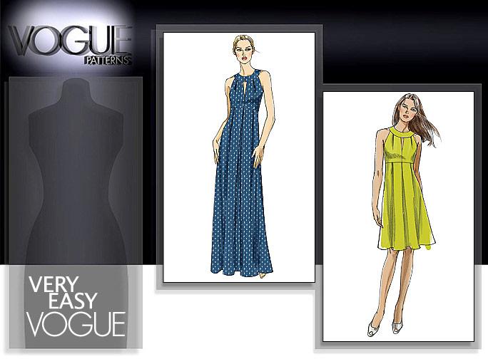 Vogue Patterns MISSES' DRESS 8574
