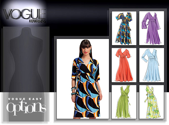 Vogue Patterns MISSES' DRESS 8575