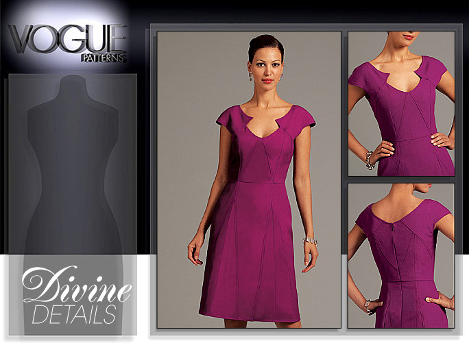 Vogue Patterns MISSES' DRESS 8576