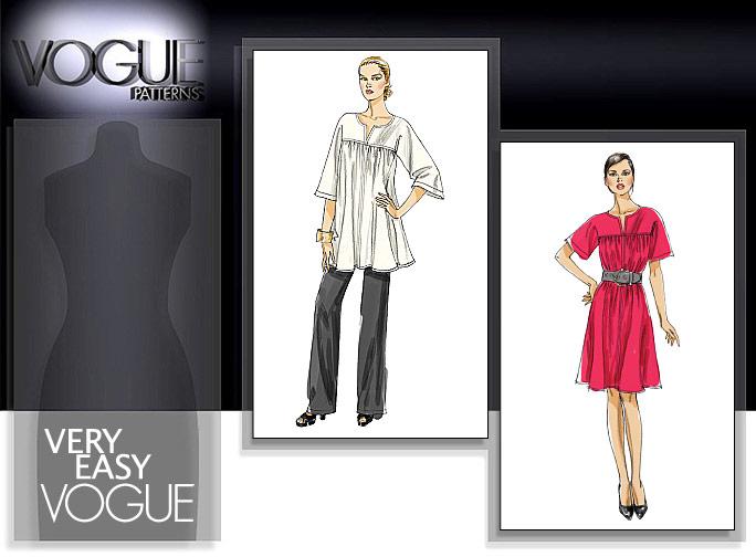 Vogue Patterns MISSES' TUNIC, DRESS AND PANTS 8587
