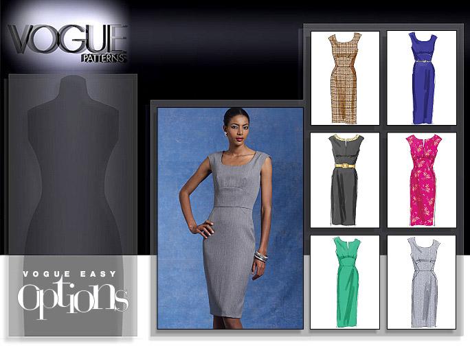Vogue Patterns MISSES' DRESS 8594