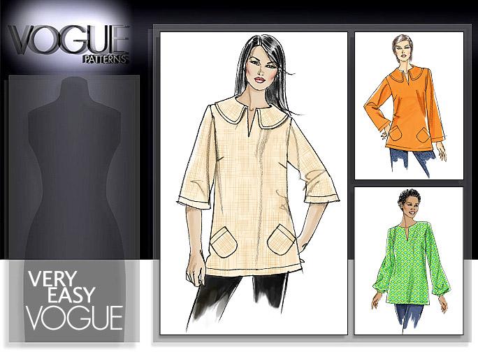 Vogue Patterns MISSES' TUNIC 8595