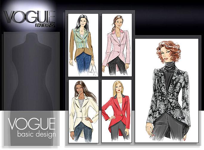Vogue Patterns MISSES' JACKET 8601