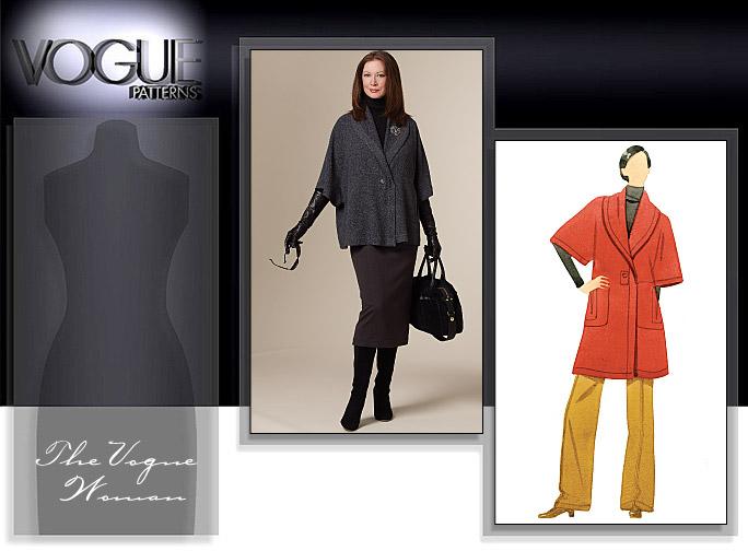 Vogue Patterns MISSES' JACKET, SKIRT AND PANTS 8605