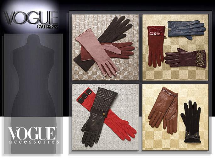 Vogue Patterns GLOVES 8608