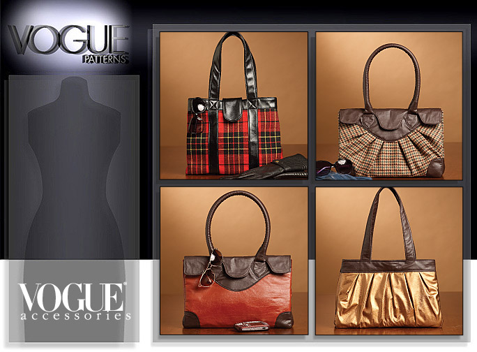 Vogue Patterns BAGS 8609