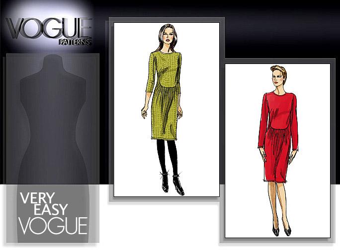 Vogue Patterns DRESS 8611