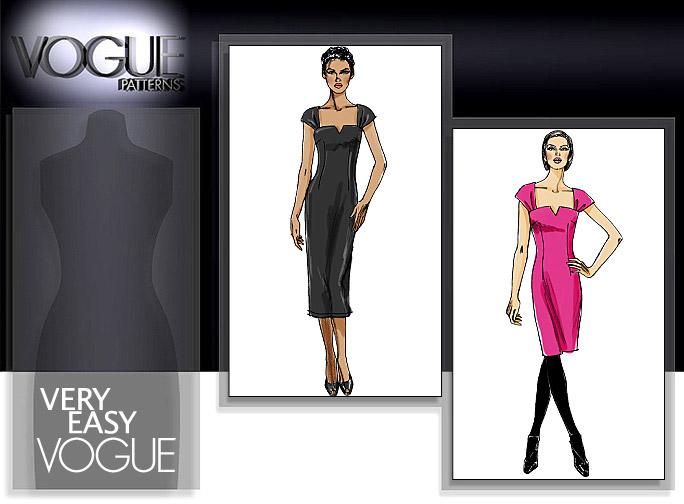Vogue Patterns DRESS 8612