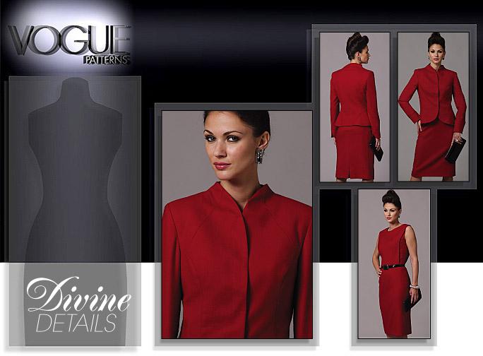 Vogue Patterns JACKET DRESSES 8614
