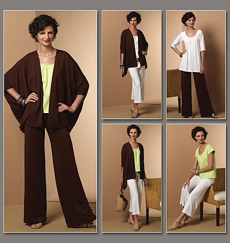 Vogue Patterns Misses' Jacket, Top And Pants 8641