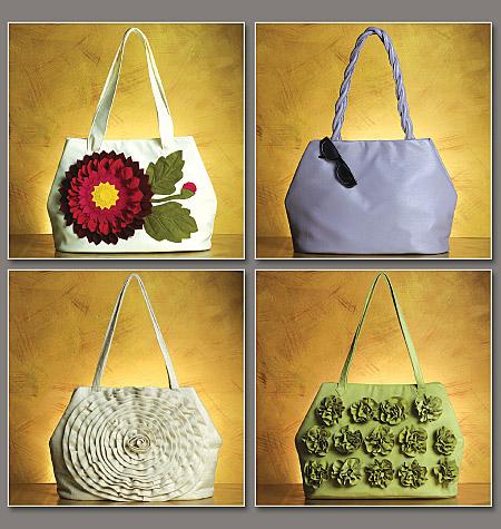 Vogue Patterns Handbags 8642