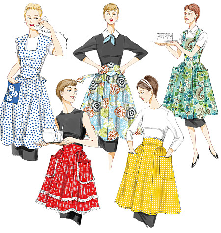 Vogue Patterns Aprons 8643