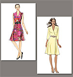 Vogue 8646 Pattern ( Size 14-16-18-20-22 )