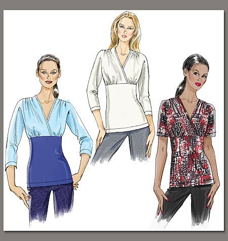 Vogue Patterns Misses' Top 8649