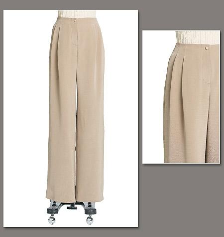 Vogue Patterns Misses' Pants 8652