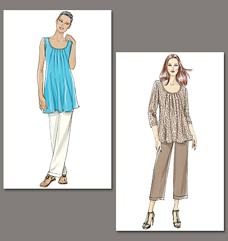 Vogue Patterns Misses' Tunic and Pants 8656
