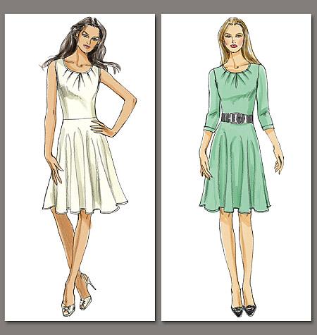 Vogue Patterns Misses' Dress 8663