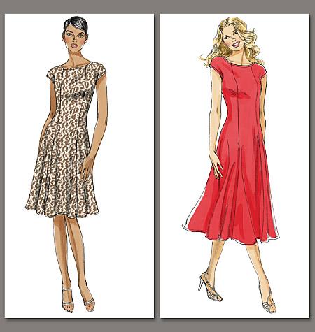 Vogue Patterns Misses'/Misses' Petite Dress 8665