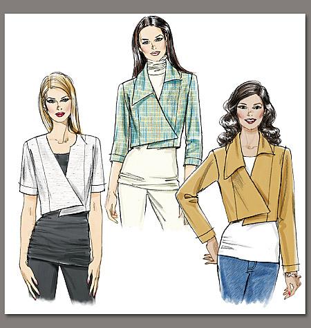 Vogue Patterns Misses' Jacket 8673